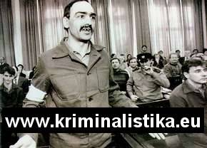 Tibor Polgári, the prisoner at the trial -